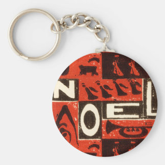 Noel Red Keychains