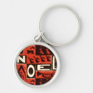 Noel Red Key Chains