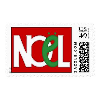 NOEL Red Stamp