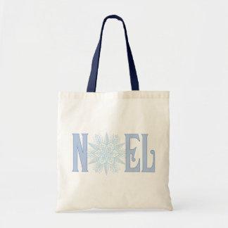 NOEL-Snowflake Canvas Bags