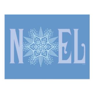 NOEL-Snowflake Postcard