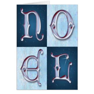 NOEL STARS by SHARON SHARPE Card