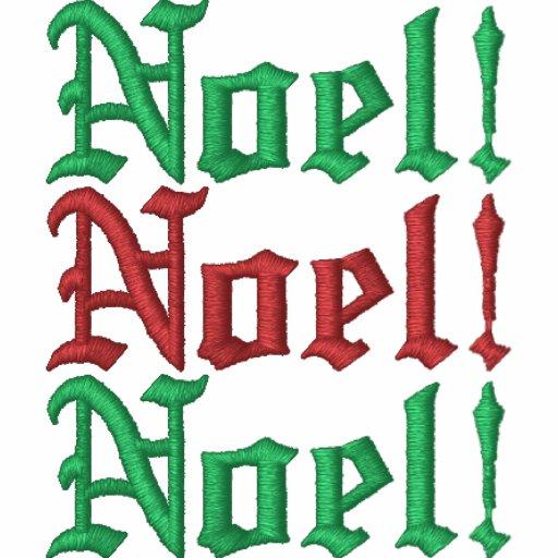 ¡Noel! Sudadera con capucha básica bordada de la c