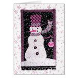 Noel the Snowguy Greeting Card