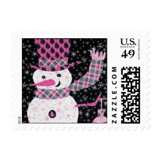 Noel the Snowguy Postage