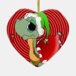 Noel Turtle Christmas Ornament