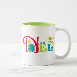 Noël Two-Tone Coffee Mug