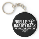 Noelle Has My Back Keychain