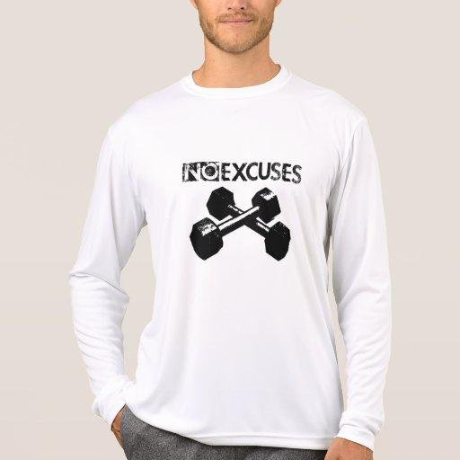 NoExcuses Fitness LS Men Shirts