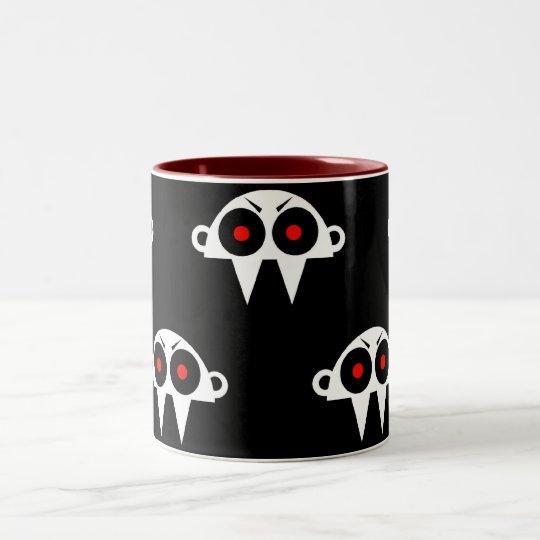Nofi - the vampires head Two-Tone coffee mug