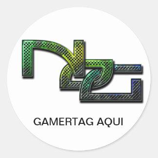 NoG adhesive Stickers