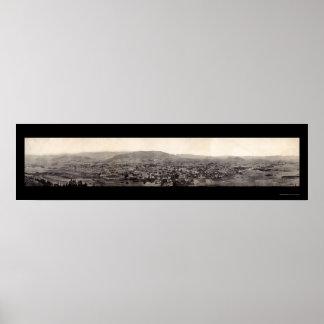 Nogales Panoramic Photo 1909 Poster