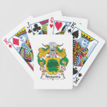 Nogueira Family Crest Bicycle Card Decks