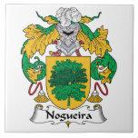 Nogueira Family Crest Ceramic Tile