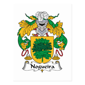 Nogueira Family Crest Post Card