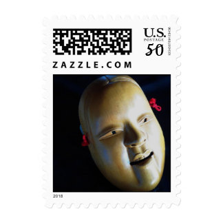Noh Mask Ko-omote onna-men woman Theater Stamps
