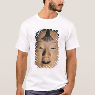 Noh theatre mask of a young boy called T-Shirt