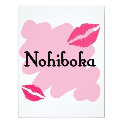 """Nohiboka - árabe te amo invitación 4.25"""" x 5.5"""""""