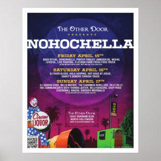 NoHoChella 2011 Poster