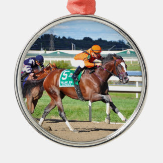 Noholdingback Bear - Gallant Bob Stakes Metal Ornament