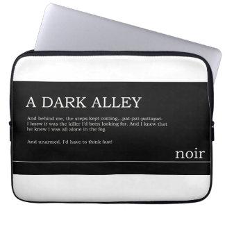 Noir Excerpt Laptop Sleeve