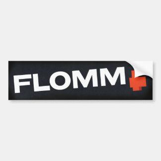 noir FLOMM positavo Bumper Sticker