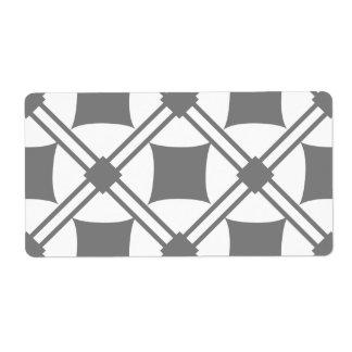 noir patterns label