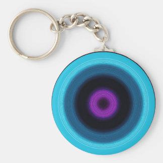 noir pink keychain