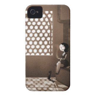 Noir por Nidhi Chanani iPhone 4 Case-Mate Fundas