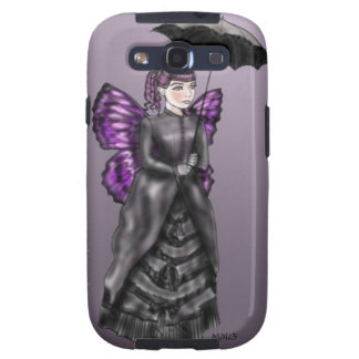 Noir violeta samsung galaxy s3 funda