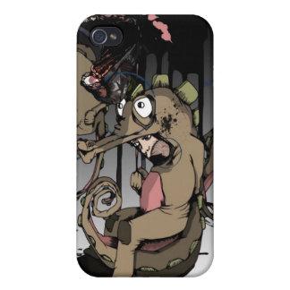 noire 9 del maree iPhone 4 protectores