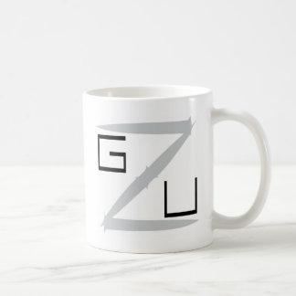 Noire de GZU Pointes Ecriture Tazas De Café