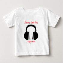 Noise cancelling headphones baby T-Shirt