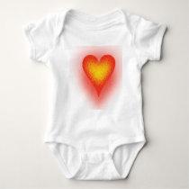 Noise Heart Baby Bodysuit