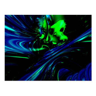 Noise in 3D Abstract Postcard