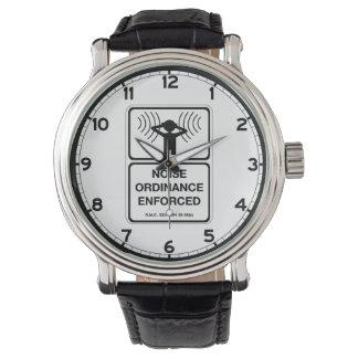 Noise Ordinance Enforced (2), Sign, Colorado, US Watch