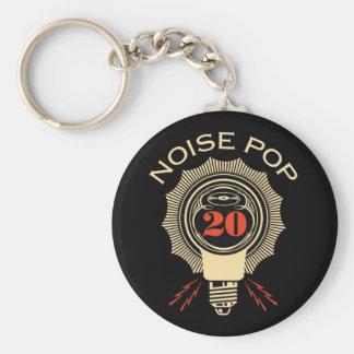 Noise Pop 20 Key Chain