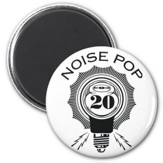 Noise Pop 20 Fridge Magnet