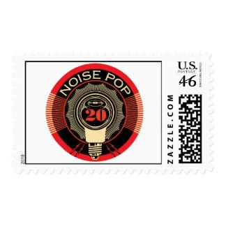 Noise Pop 20 Stamp