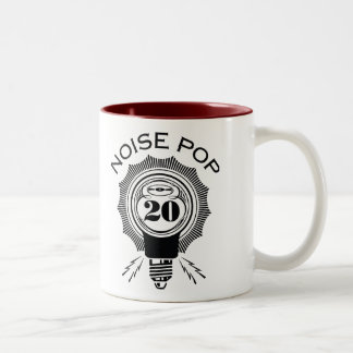 Noise Pop 20 Two-Tone Coffee Mug