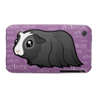 Noisy Guinea Pig (long hair) iPhone 3 Case
