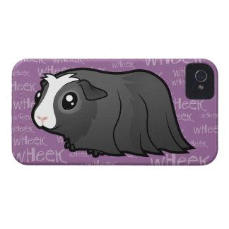 Noisy Guinea Pig (long hair) iPhone 4 Cover