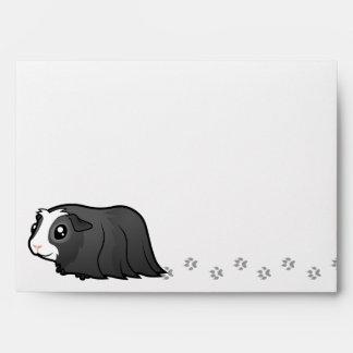 Noisy Guinea Pig (long hair) Envelope