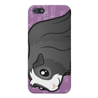 Noisy Guinea Pig (long hair) Cases For iPhone 5