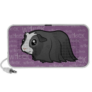 Noisy Guinea Pig (long hair) Portable Speaker