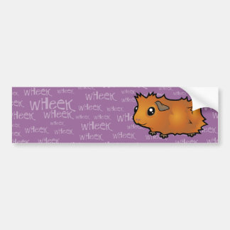 Noisy Guinea Pig (scruffy) Bumper Sticker
