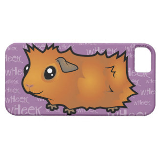 Noisy Guinea Pig (scruffy) iPhone 5 Cover
