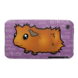 Noisy Guinea Pig (scruffy) iPhone 3 Covers