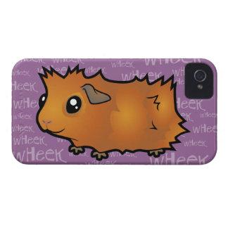 Noisy Guinea Pig (scruffy) iPhone 4 Cases