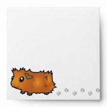 Noisy Guinea Pig (scruffy) Envelope